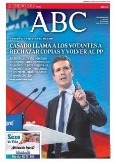 CASADO LLAMA A LOS VOTANTES A RECHAZAR COPIAS Y VOLVER AL PP