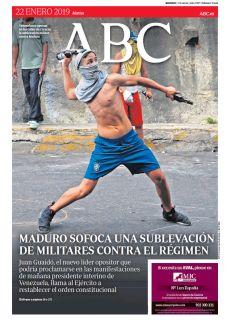 MADURO SOFOCA UNA SUBLEVACIÓN DE MILITARES CONTRA EL RÉGIMEN