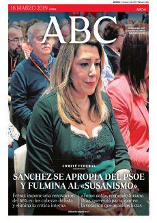 SÁNCHEZ SE APROPIA DEL PSOE Y FULMINA AL «SUSANISMO»