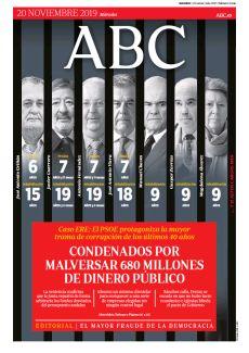 CONDENADOS POR MALVERSAR 680 MILLONES DE DINERO PÚBLICO
