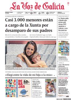 CASI 3.000 MENORES ESTÁN A CARGO DE LA XUNTA POR DESAMPARO DE SUS PADRES