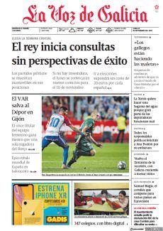 EL REY INICIA CONSULTAS SIN PERSPECTIVAS DE ÉXITO