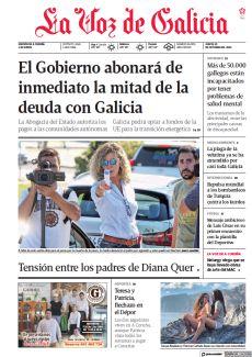 EL GOBIERNO ABONARÁ DE INMEDIATO LA MITAD DE LA DEUDA CON GALICIA