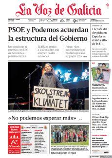 PSOE Y PODEMOS ACUERDAN LA ESTRUCTURA DEL GOBIERNO
