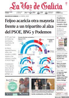 FEIJOO ACARICIA OTRA MAYORÍA FRENTE A UN TRIPARTITO AL ALZA DEL PSOE, BNG Y PODEMOS