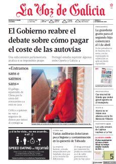 EL GOBIERNO REABRE EL DEBATE SOBRE CÓMO PAGAR EL COSTE DE LAS AUTOVÍAS