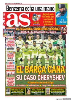 EL BARÇA GANA SU CASO CHERYSHEV