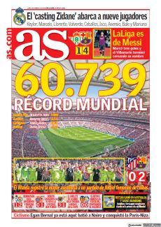 60.739 RÉCORD MUNDIAL