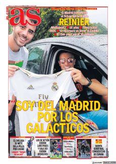 REINIER SOY DEL MADRID POR LOS GALA´ CTICOS