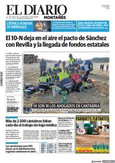 EL 10-N DEJA EN EL AIRE EL PACTO DE SÁNCHEZ CON REVILLA Y LA LLEGADA DE FONDOS ESTATALES