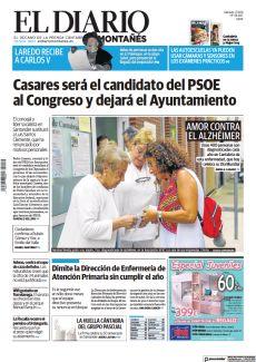 CASARES SERÁ EL CANDIDATO DEL PSOE AL CONGRESO Y DEJARÁ EL AYUNTAMIENTO