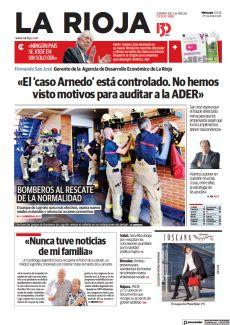«EL 'CASO ARNEDO' ESTÁ CONTROLADO. NO HEMOS VISTO MOTIVOS PARA AUDITAR A LA ADER»