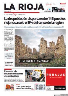 LA DESPOBLACIÓN DISPERSA ENTRE 146 PUEBLOS RIOJANOS A SOLO EL 9% DEL CENSO DE LA REGIÓN