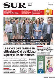 CASADO SE LANZA A LA CONQUISTA DEL CENTRO