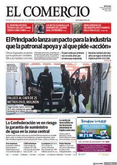 FALLECE AL CAER DE 25 METROS EN EL MOLINÓN