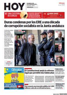 DURAS CONDENAS POR LOS ERE A UNA DÉCADA DE CORRUPCIÓN SOCIALISTA EN LA JUNTA ANDALUZA