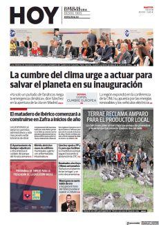 LA CUMBRE DEL CLIMA URGE A ACTUAR PARA SALVAR EL PLANETA EN SU INAUGURACIÓN