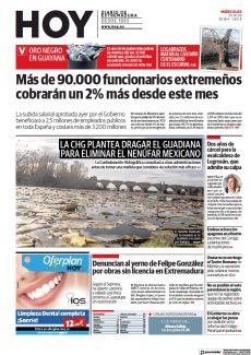 LA CHG PLANTEA DRAGAR EL GUADIANA PARA ELIMINAR EL NENÚFAR MEXICANO