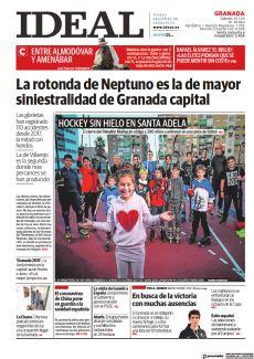 LA ROTONDA DE NEPTUNO ES LA DE MAYOR SINIESTRALIDAD DE GRANADA CAPITAL