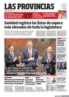 EL REY ENSALZA A BROSETA COMO EJEMPLO DE CONCORDIA