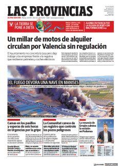 UN MILLAR DE MOTOS DE ALQUILER CIRCULAN POR VALENCIA SIN REGULACIÓN