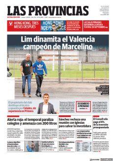LIM DINAMITA EL VALENCIA CAMPEÓN DE MARCELINO