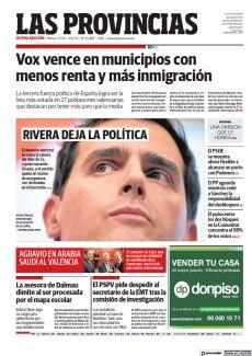 RIVERA DEJA LA POLÍTICA