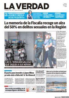 LA MEMORIA DE LA FISCALÍA RECOGE UN ALZA DEL 50% EN DELITOS SEXUALES EN LA REGIÓN