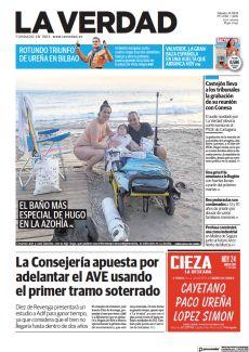 EL BAÑO MÁS ESPECIAL DE HUGO EN LA AZOHÍA