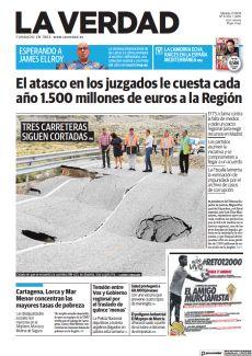 EL ATASCO EN LOS JUZGADOS LE CUESTA CADA AÑO 1.500 MILLONES DE EUROS A LA REGIÓN