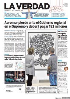 AEROMUR PIERDE ANTE EL GOBIERNO REGIONAL EN EL SUPREMO Y DEBERÁ PAGAR 182 MILLONES