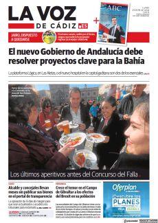 EL NUEVO GOBIERNO DE ANDALUCÍA DEBE RESOLVER PROYECTOS CLAVE PARA LA BAHÍA