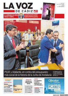PSOE Y ADELANTE, EN CONTRA DEL PRESUPUESTO MÁS SOCIAL DE LA HISTORIA DE LA JUNTA DE ANDALUCÍA