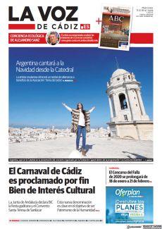 EL CARNAVAL DE CÁDIZ ES PROCLAMADO POR FIN BIEN DE INTERÉS CULTURAL