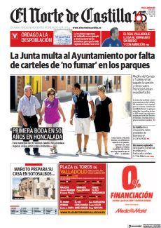 LA JUNTA MULTA AL AYUNTAMIENTO POR FALTA DE CARTELES DE 'NO FUMAR' EN LOS PARQUES