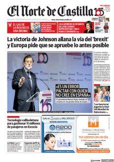 «ES UN ERROR PACTAR CON QUIEN NO CREE EN ESPAÑA»