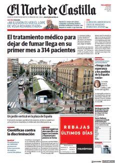UN JARDÍN VERTICAL EN LA PLAZA DE ESPAÑA