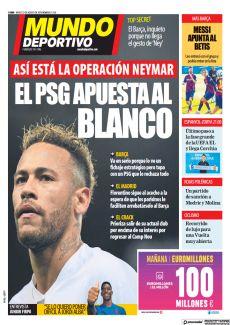 EL PSG APUESTA AL BLANCO