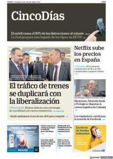 EL TRÁFICO DE TRENES SE DUPLICARÁ CON LA LIBERALIZACIÓN