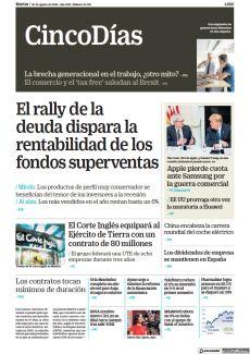 EL RALLY DE LA DEUDA DISPARA LA RENTABILIDAD DE LOS FONDOS SUPERVENTAS