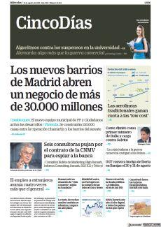 LOS NUEVOS BARRIOS DE MADRID ABREN UN NEGOCIO DE MÁS DE 30.000 MILLONES