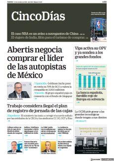 ABERTIS NEGOCIA COMPRAR EL LÍDER DE LAS AUTOPISTAS DE MÉXICO
