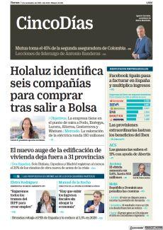 HOLALUZ IDENTIFICA SEIS COMPAÑÍAS PARA COMPRAR TRAS SALIR A BOLSA