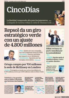 REPSOL DA UN GIRO ESTRATÉGICO VERDE CON UN AJUSTE DE 4.800 MILLONES
