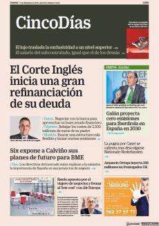 EL CORTE INGLÉS INICIA UNA GRAN REFINANCIACIÓN DE SU DEUDA