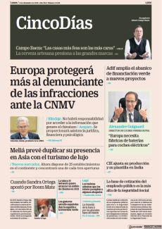 EUROPA PROTEGERÁ MÁS AL DENUNCIANTE DE LAS INFRACCIONES ANTE LA CNMV