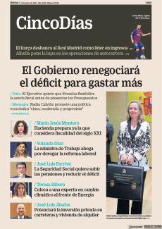 EL GOBIERNO RENEGOCIARÁ EL DÉFICIT PARA GASTAR MÁS