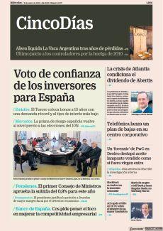 / PENSIONES. EL PRIMER CONSEJO DE MINISTROS APRUEBA LA SUBIDA DEL 0,9% PARA ESTE AÑO