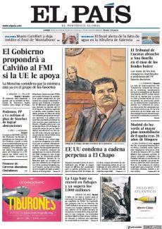 EE UU CONDENA A CADENA PERPETUA A EL CHAPO