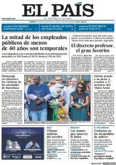 HOMENAJE EN SILENCIO A LAS VÍCTIMAS DE LOS ATENTADOS DE BARCELONA